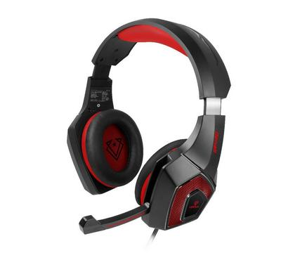 Vertux, Wired Gaming PC Headset, 2.1m, Red,