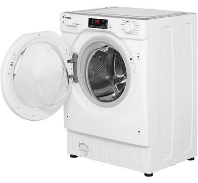 Candy, Front Load Washer 8kg, Dryer 5kg ,Built-in ,1400 rpm, 15+1 Programs,White