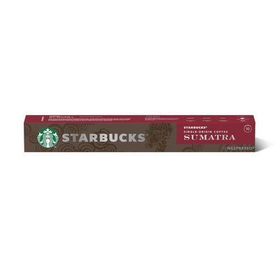 ستاربكس نسبرسو سومطرة كبسولات قهوة عدد 10