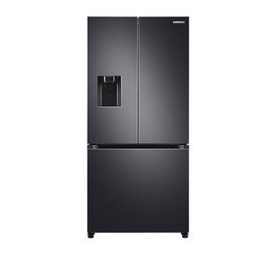 Samsung 563.0L Smart French Door Fridge With Water Dispenser 3 Doors Digital Inverter Black