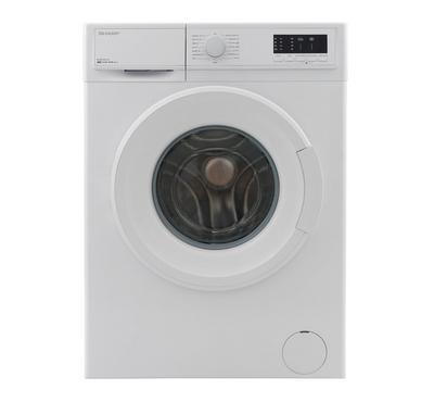 Sharp Front Load Washing Machine, 7KG, White
