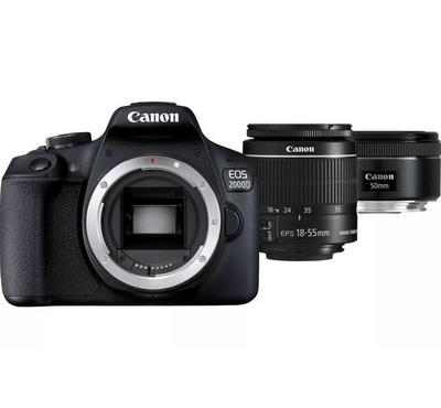 Canon EOS 2000D DSLR Camera 24.1MP, 3.0-Inch,Black